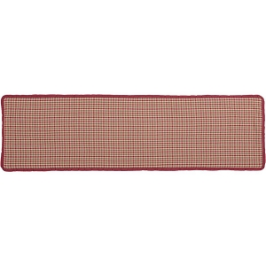 Jonathan Plaid Ruffled Runner 13x48