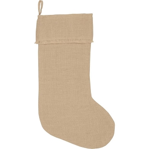 Jute Burlap Natural Stocking 12x20