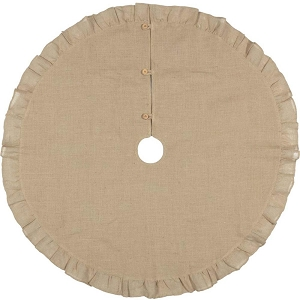 Jute Burlap Natural Tree Skirt - 48  inches