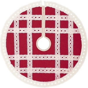 Margot Red Tree Skirt