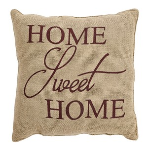 Home Sweet Home Pillow 12x12