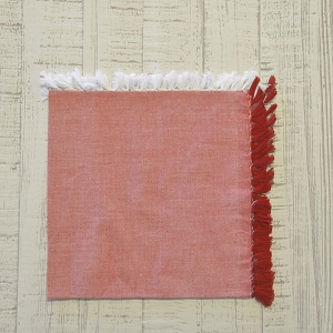 Harmony Red Napkin Set of 6