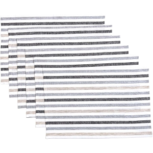 Blake Grey Placemats - Set of 6