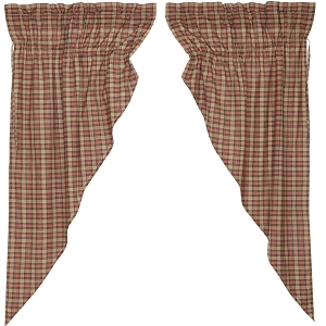 Crosswoods Prairie Curtains - Set of 2
