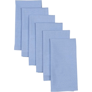 Sara Light Blue Napkin Set of 6