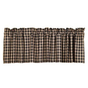 Bingham Star Plaid Valance  - 16 x 72