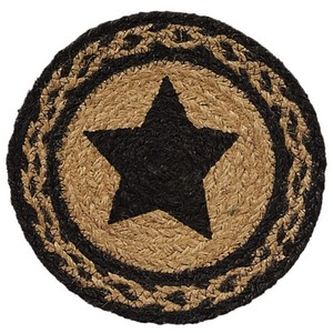 Farmhouse Jute 8'' Star Stencil Trivet