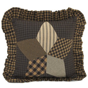 Farmhouse Star Throw Pillow