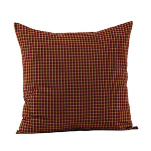 Patriotic Patch Fabric Pillow