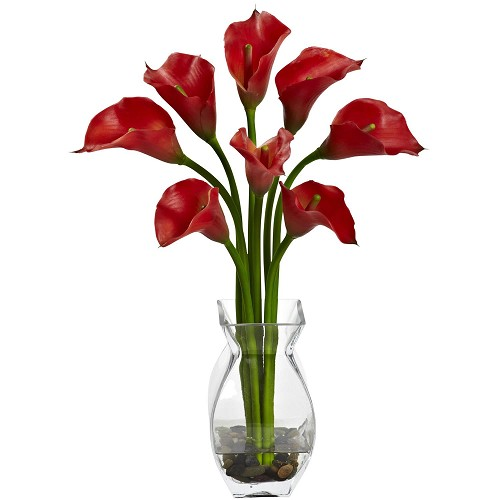 Red Classic Calla Lily Arrangement