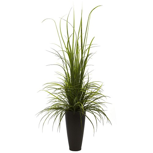 64'' River Grass w/Planter (Indoor/Outdoor)
