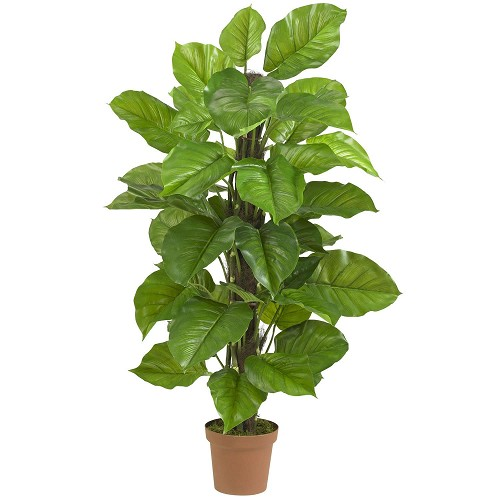 52'' Large Leaf Philodendron Silk Plant(Real Touch)