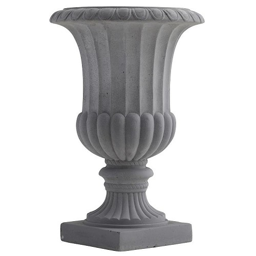16.5-Inch Decorative Urn (Indoor or Outdoor)